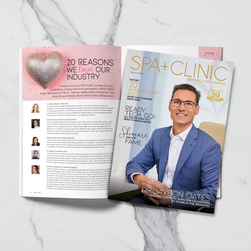 Spa + Clinic Magazine